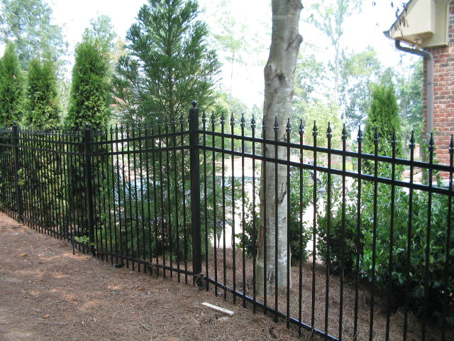 Iron fencing wrought fence products and services