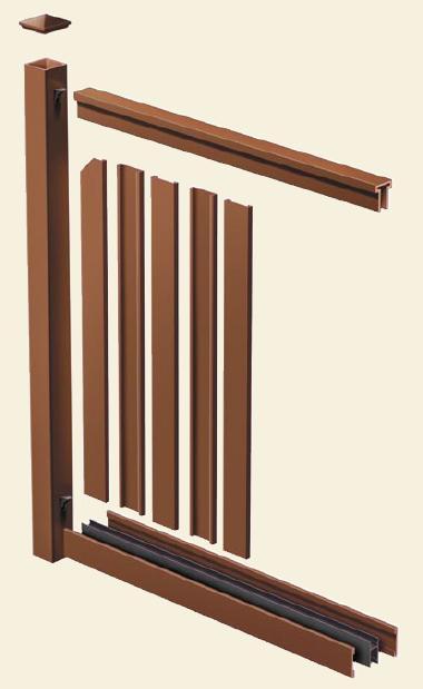 Composite Fencing Superior Fence OK