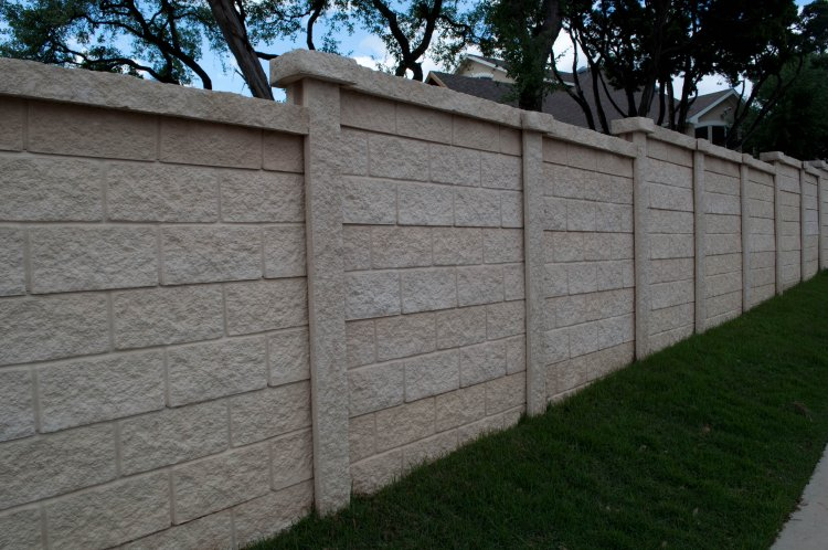 Concrete Fencing Commercial Amp Residential Fence Services Okc