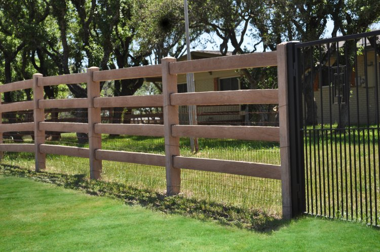 Concrete Fencing Commercial Amp Residential Fence Services